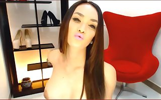 Ladyboy Dream Doll Alive showing her body