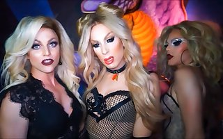 Sexy Dragqueens Born To Be Shemale Pornstars